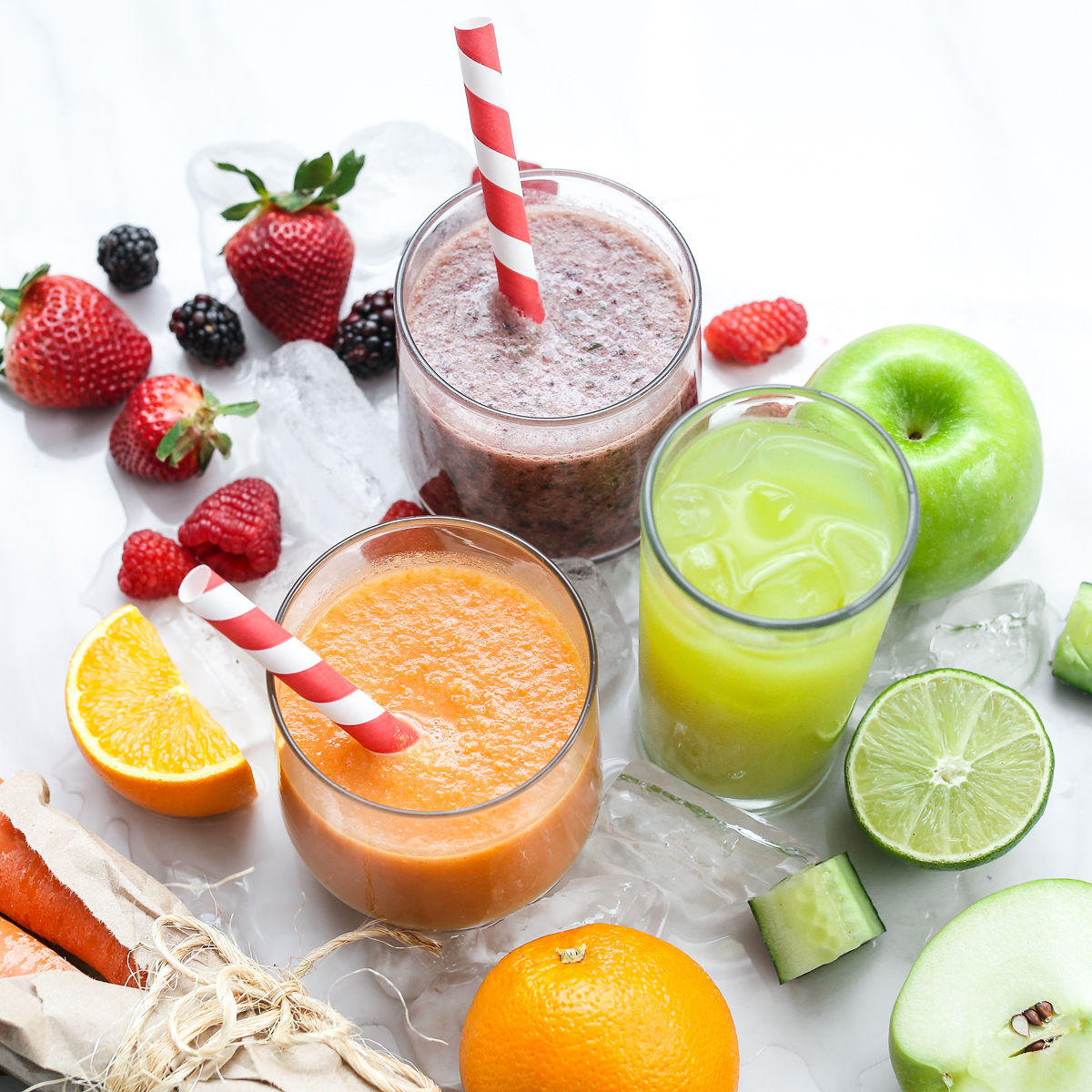 Benefits of Fruit Juice and Smoothies